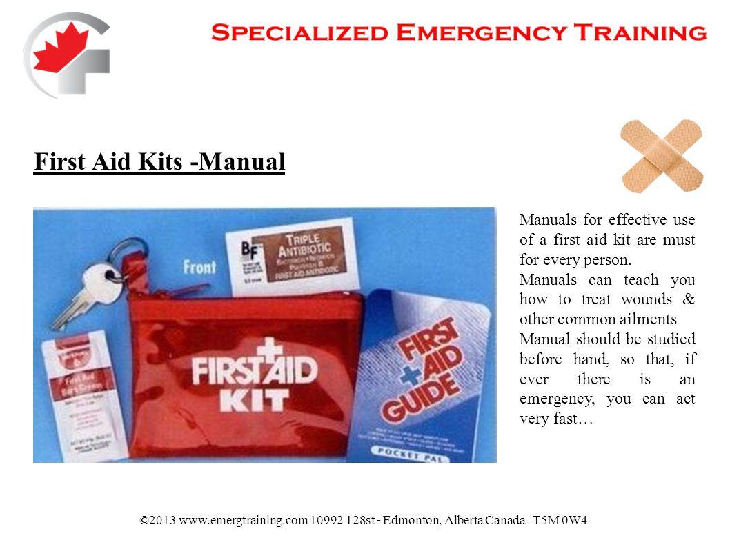 5 First Aid Kits -Manual ...