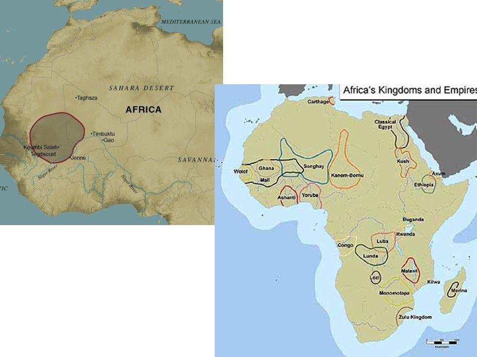 Senegal River Africa Map.Kingdoms Of Africa Ghana Mali And Songhai Kingdom Of Ghana