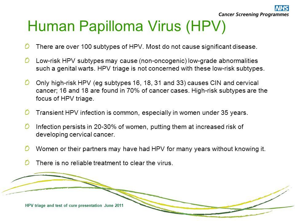 Human papillomavirus (hpv) nhs - Papillomavirus nhs