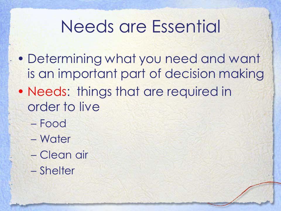 distinguish between goods and services