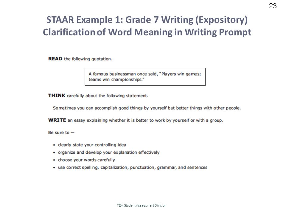 act aspire writing prompts 8th grade