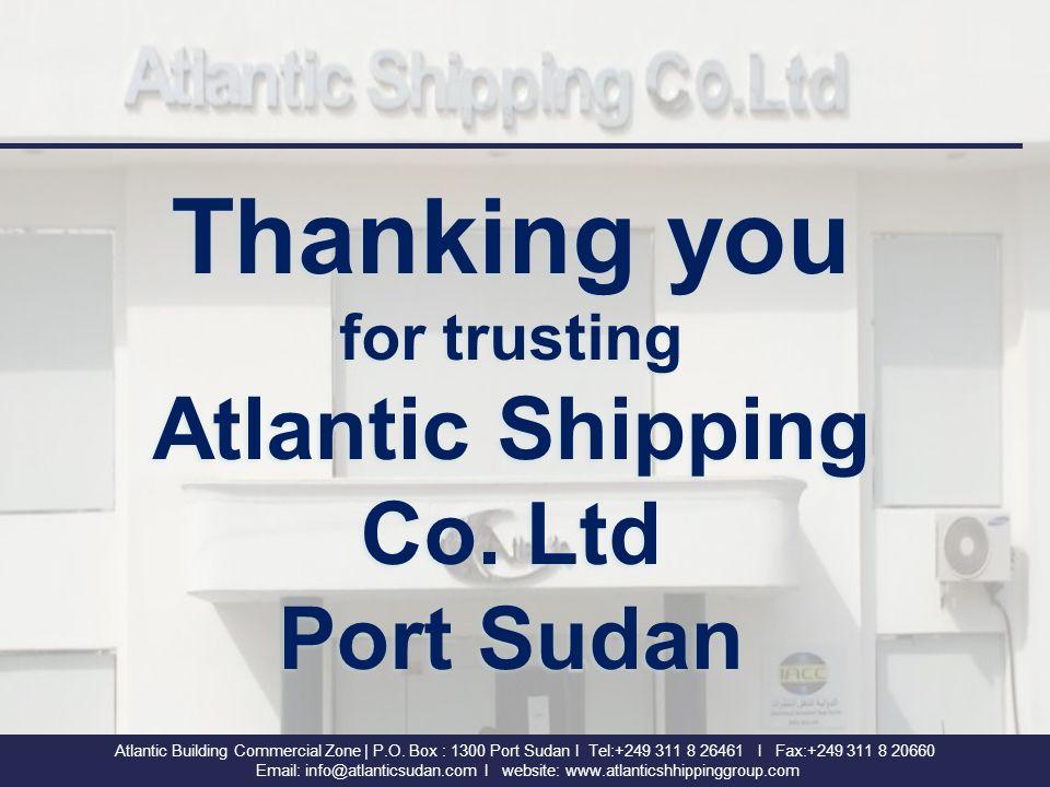 Atlantic Shipping Co  Ltd Atlantic Building Commercial Zone