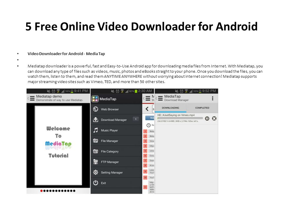 download videos from internet free online