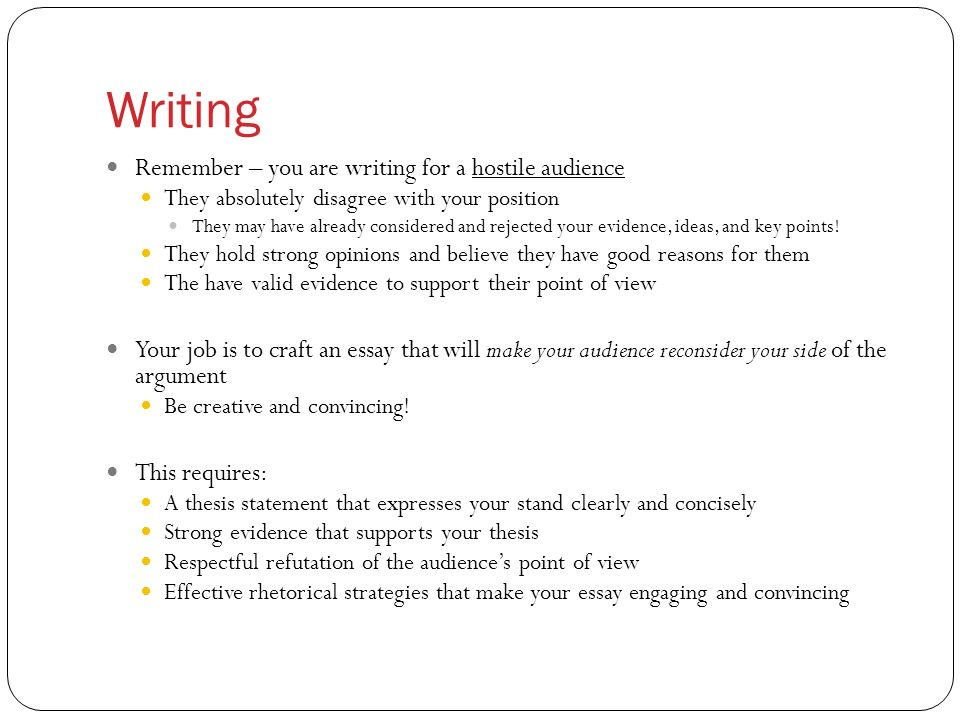 what is a key point in an essay