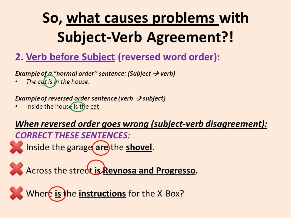 Subject Verb Agreement Ms Lodhies Mini Lesson On Sophisticated