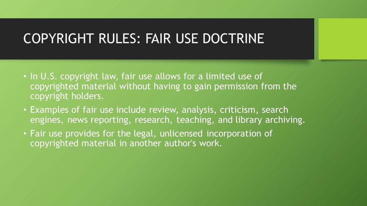 Copyright Holders 1