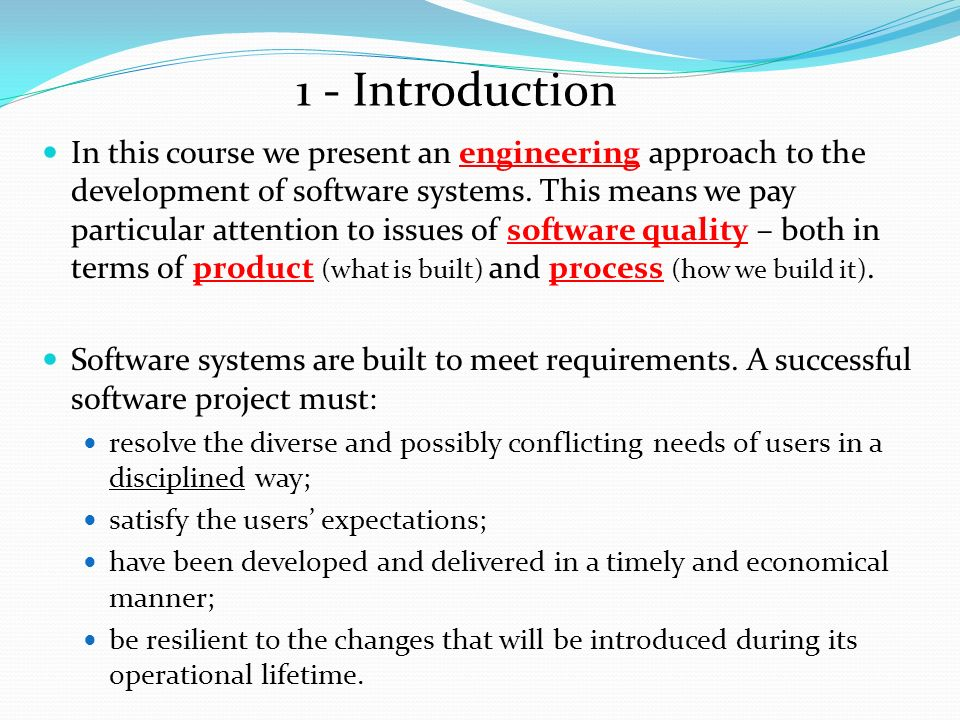 Unit 1 : Approaches to software development 1 Prepared by