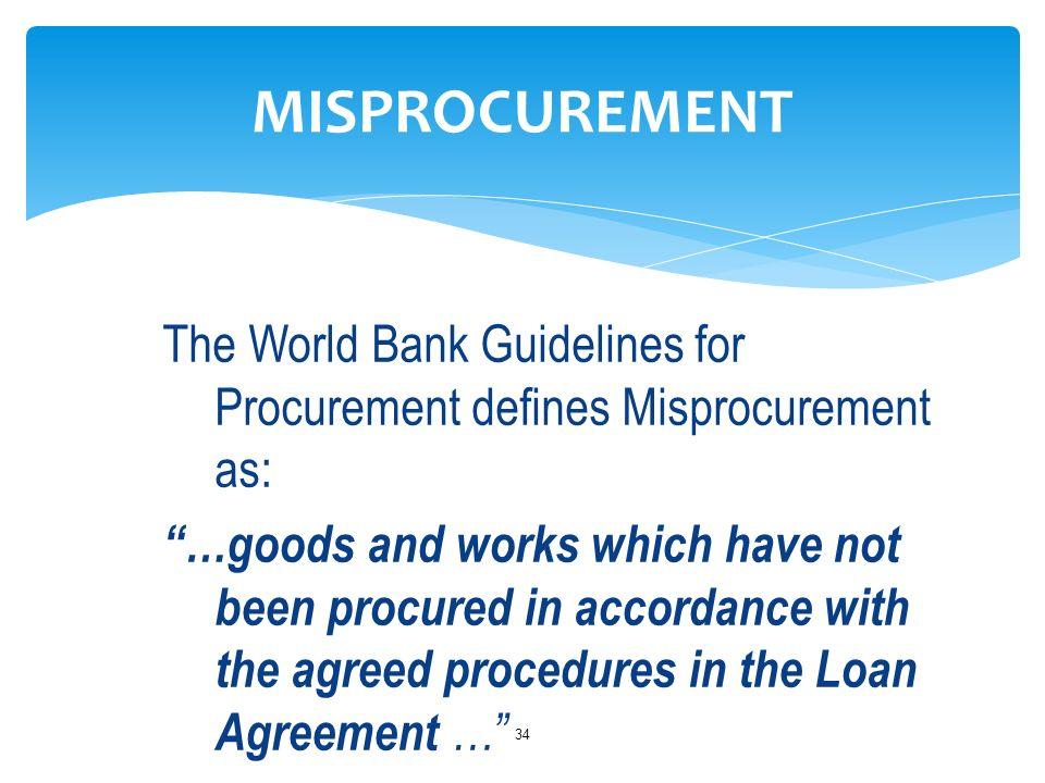 World Bank Procurement Policies And Procedures Ppt Download