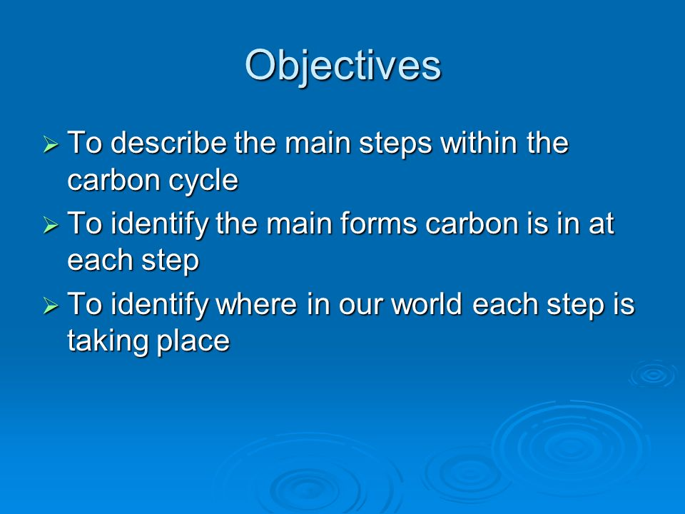what are the steps in the carbon cycle