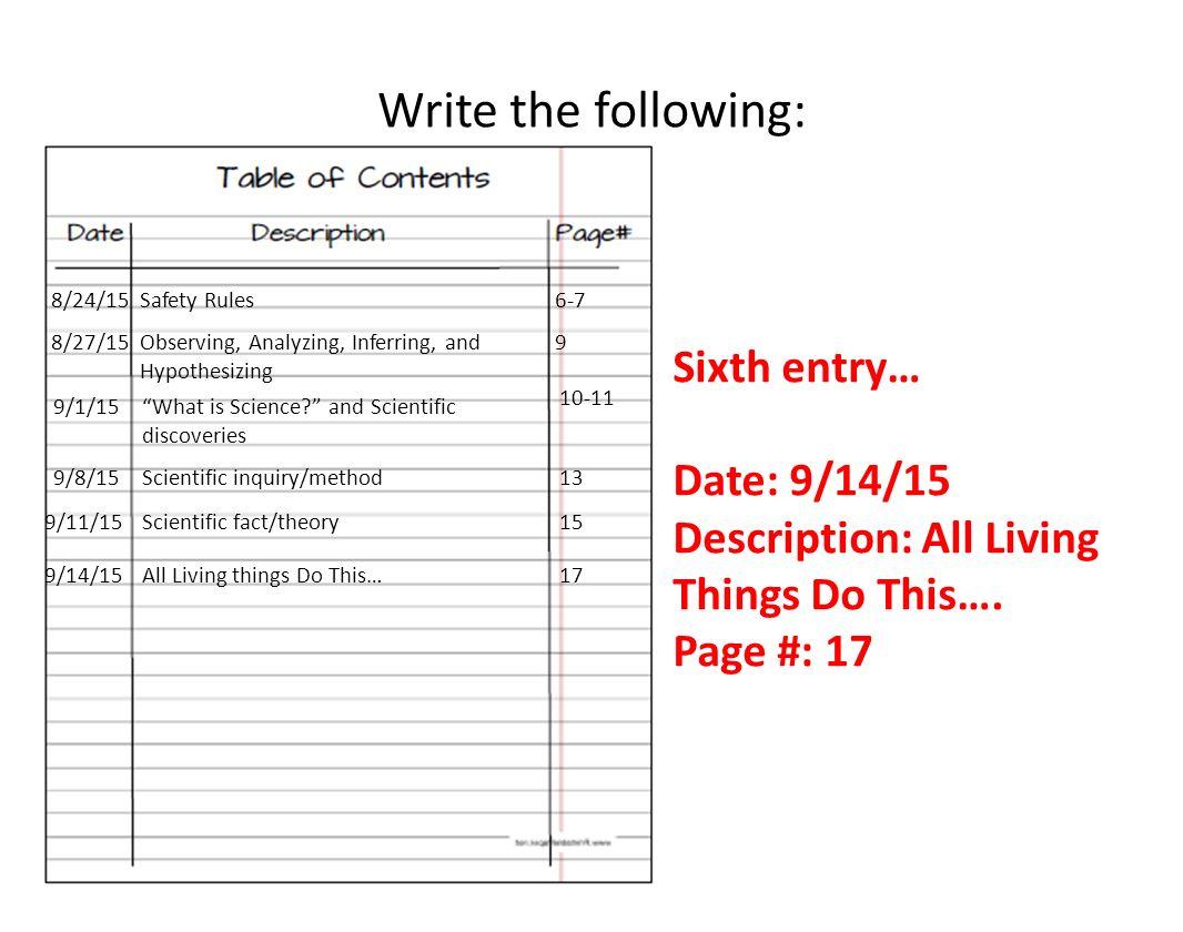4 Write ...