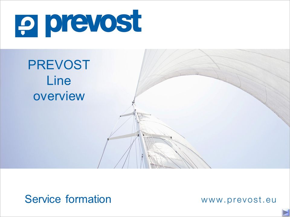PREVOST Line overview Service formation