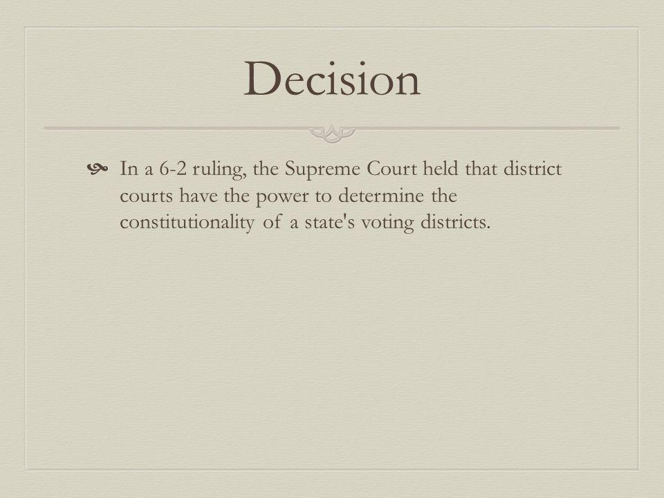 baker vs carr decision