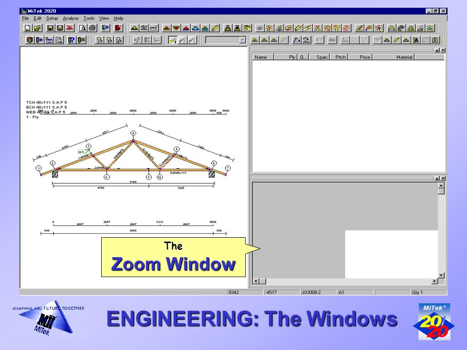 Introducing The Mitek 20 20 Mitek 20 20 Roof Engineering Program Ppt Download