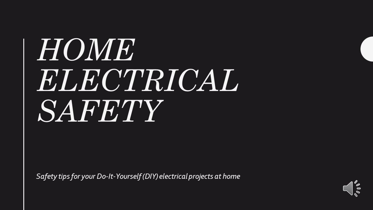 Home electrical safety safety tips for your do it yourself diy 2 home electrical safety safety tips for your do it yourself diy electrical projects at home solutioingenieria Gallery