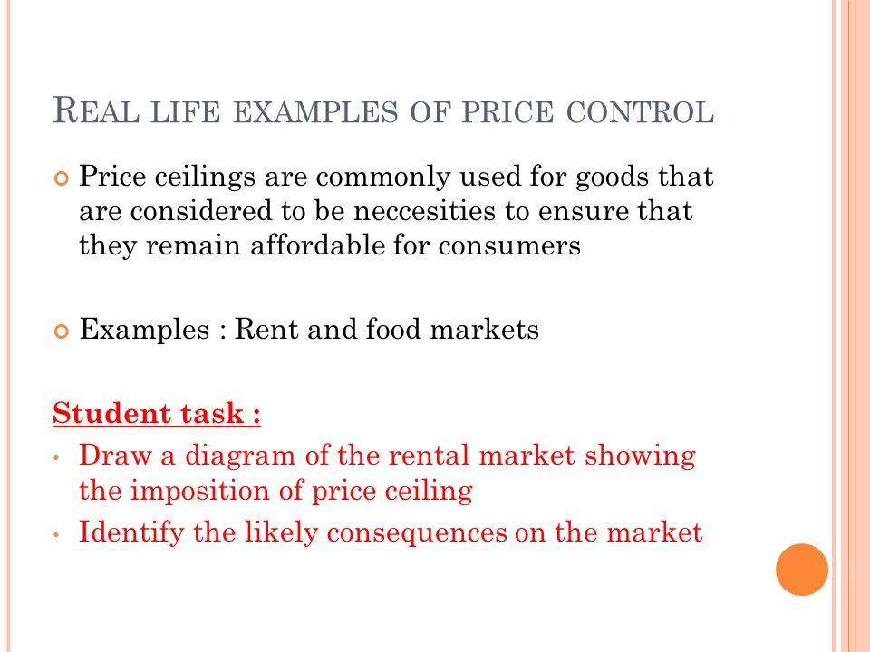 Government Intervention Price Ceiling Price Floor Syllabus