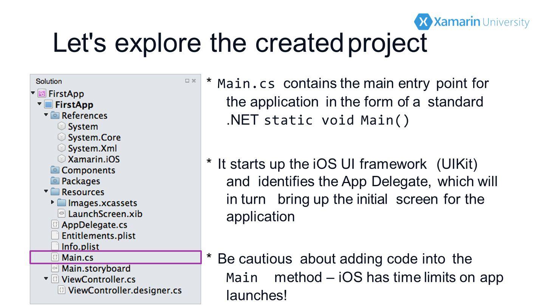 Introduction to Xamarin iOS  1 Introduce the development tools 2 (De