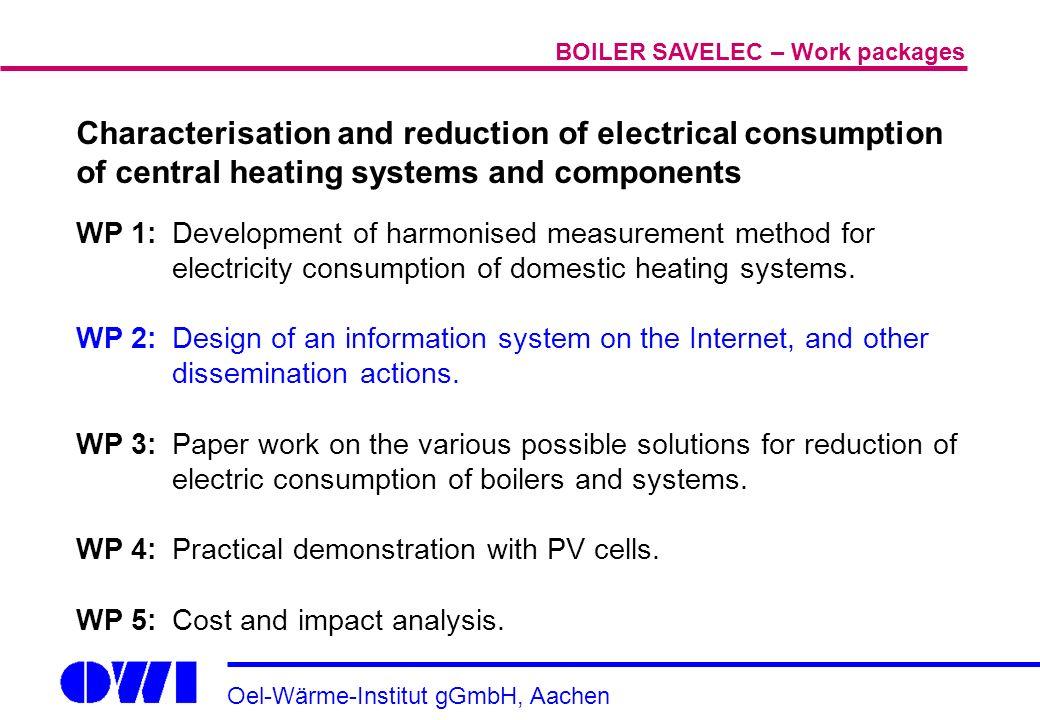 Oel-Wärme-Institut gGmbH, Aachen Characterisation and reduction of ...