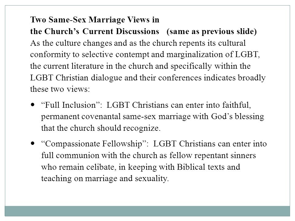 Faithful conversation christian perspectives on homosexuality