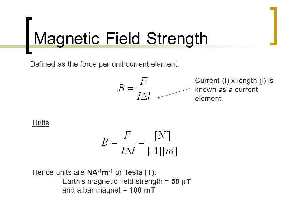 Magnetic Fields SACE Stage 2 Physics  Pictorial