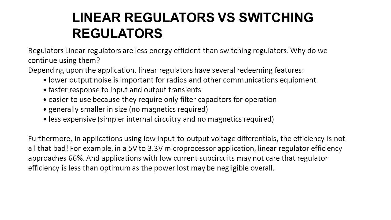 Introduction To Dc Conversion Ee174 Sjsu Tan Nguyen Ppt Download 15v Reducing Voltage Regulator Noise 18 Regulators