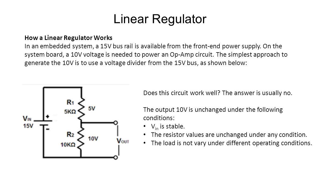 Introduction To Dc Conversion Ee174 Sjsu Tan Nguyen Ppt Download Voltage Divider Designed Produce 35v Output From 10v 5 How