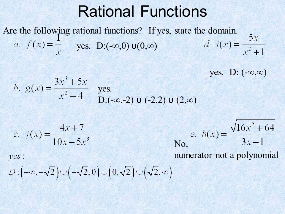 Today in Pre-Calculus No calculators needed Notes: –Rational