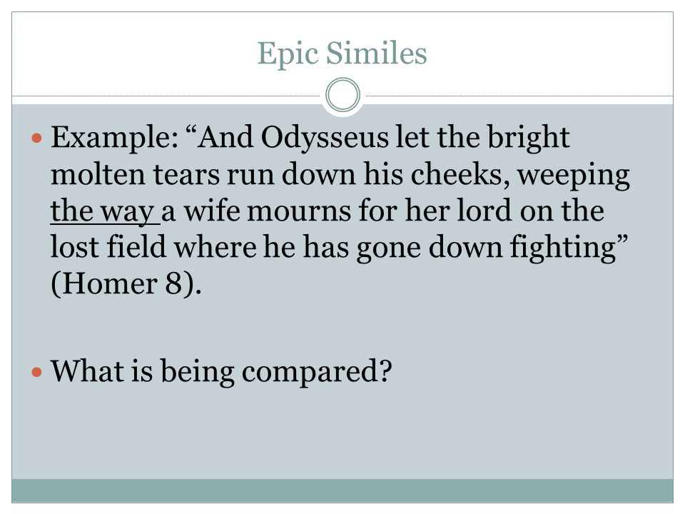 epic similes in the odyssey book 12