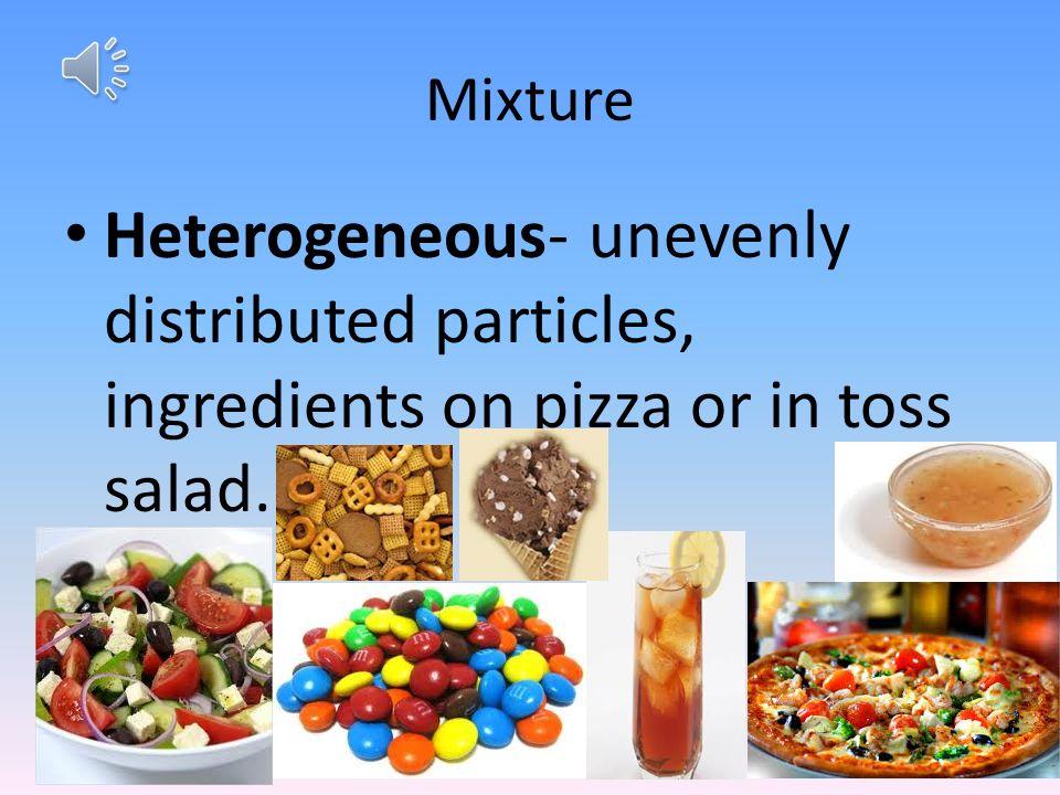 mixtures solutions colloid suspension matter heterogeneous mixture