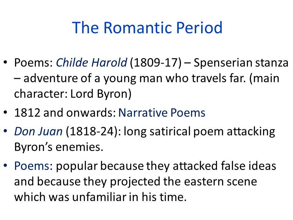 The Romantic Period The Romantic Period Sign of the Romantic