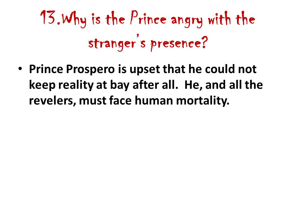 1 Why Does The Prince Retreat To His Abbey Prince Prospero