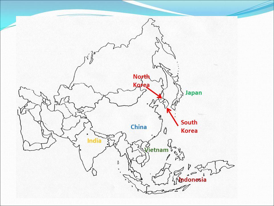 China japan south korea indonesia india vietnam north korea ppt 2 china japan south korea indonesia india vietnam north korea gumiabroncs Image collections