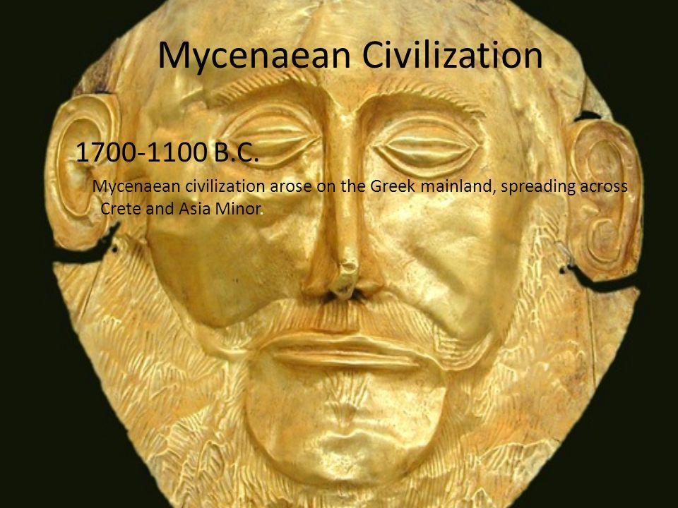 Greek History By Samantha Ion  Mycenaean Civilization B C