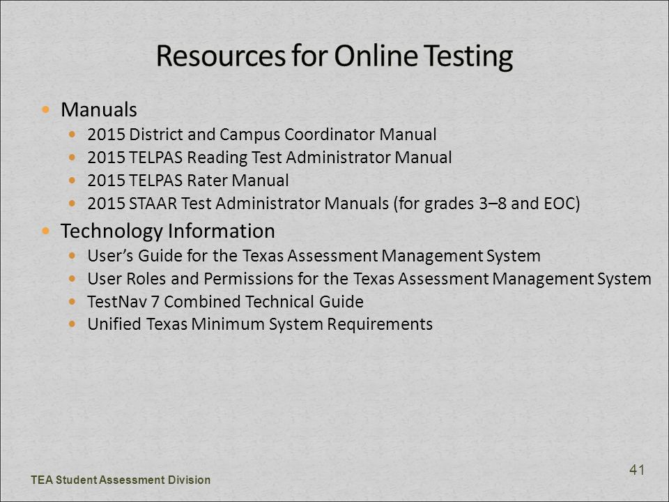 Texas english language proficiency assessment system ppt download.
