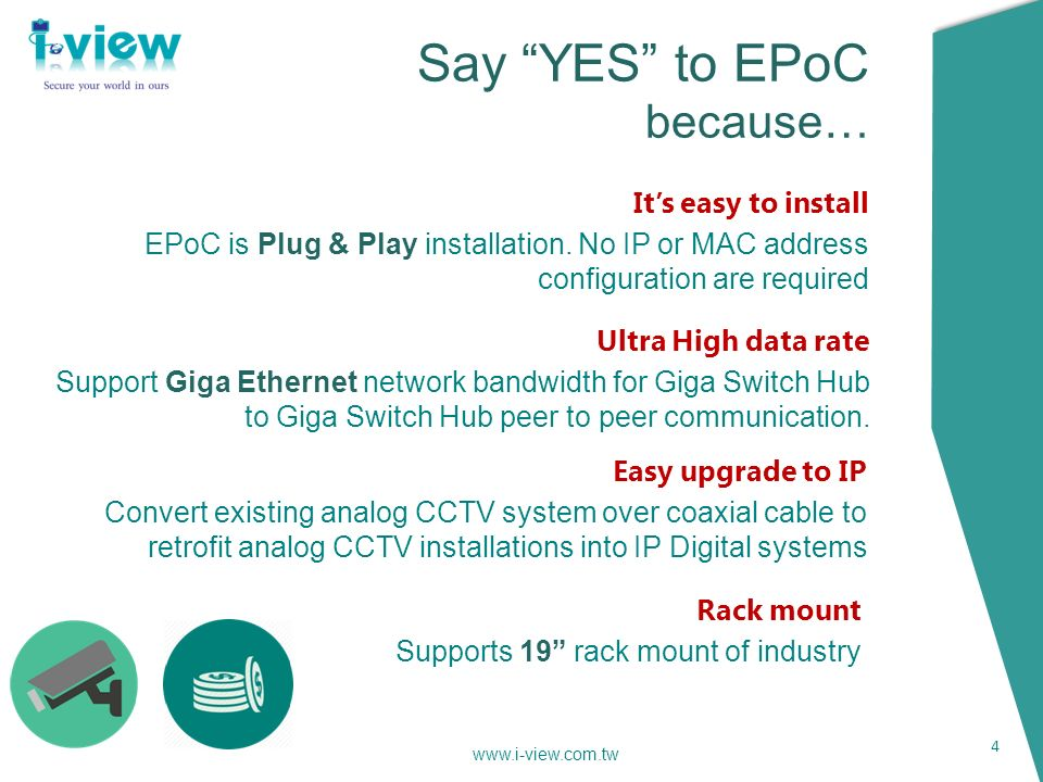 Ethernet/PoE over 2-wire extender Go farther than your IP camera