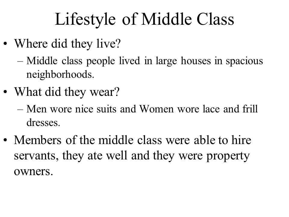 middle class lifestyle in india