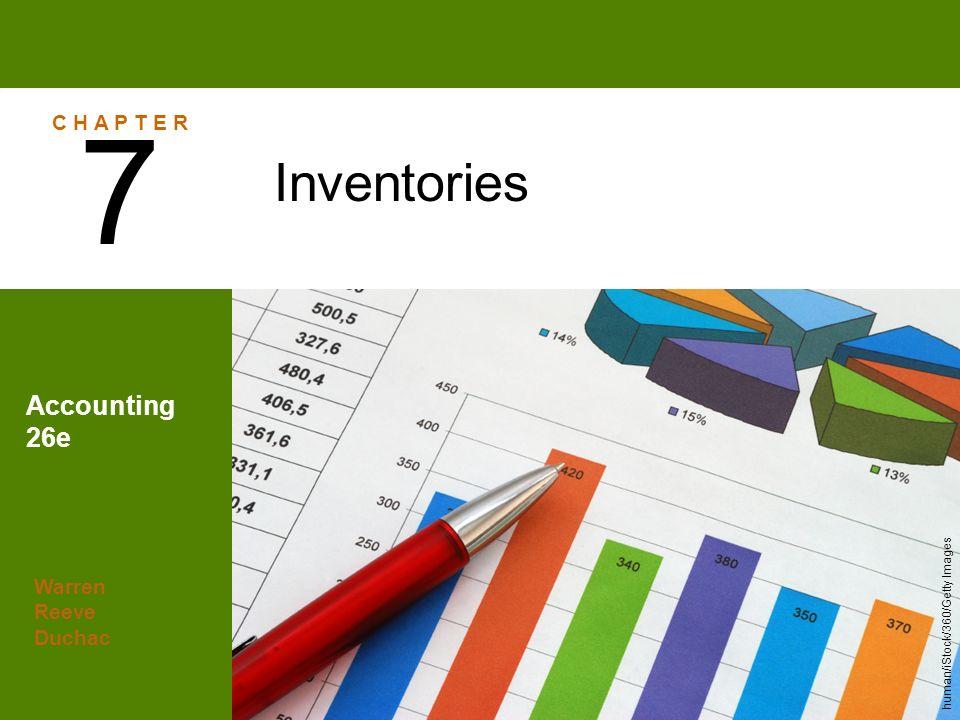 Warren Reeve Duchac Accounting 26e Inventories 7