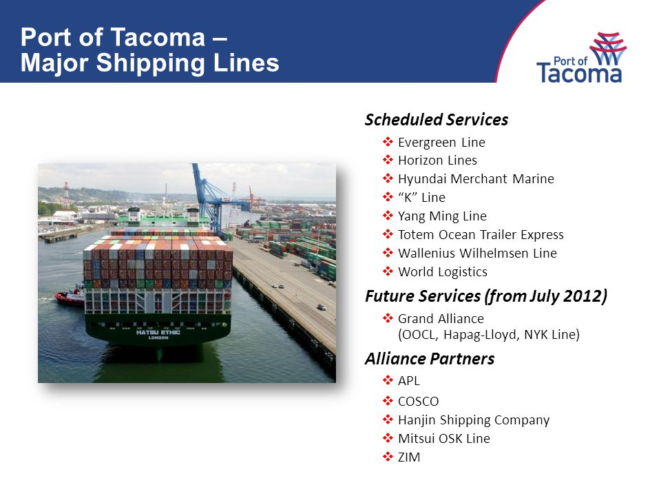 Port of Tacoma Welcomes June 14, Port of Tacoma – A Global