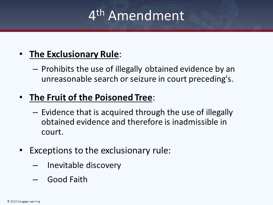 exclusionary rule scenarios