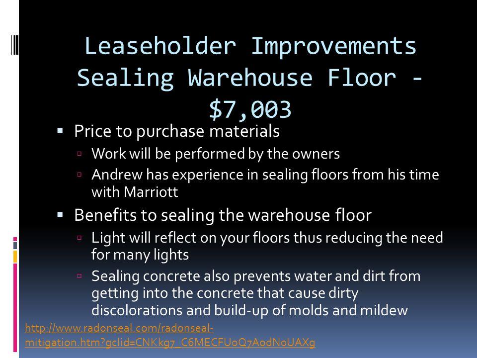 5 leaseholder improvements