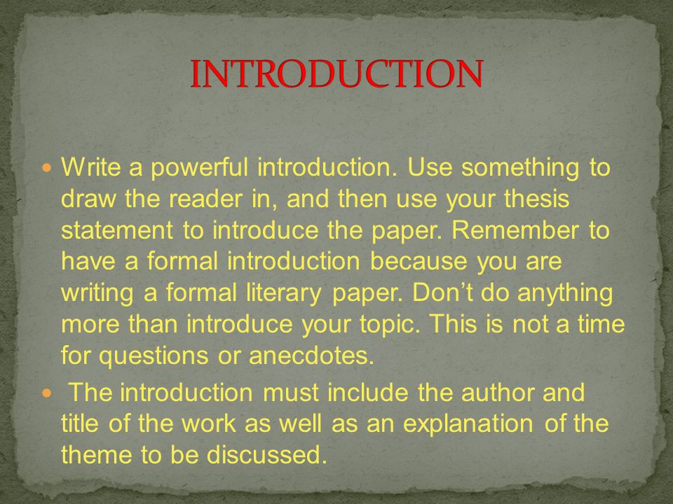 powerful introductions in essays