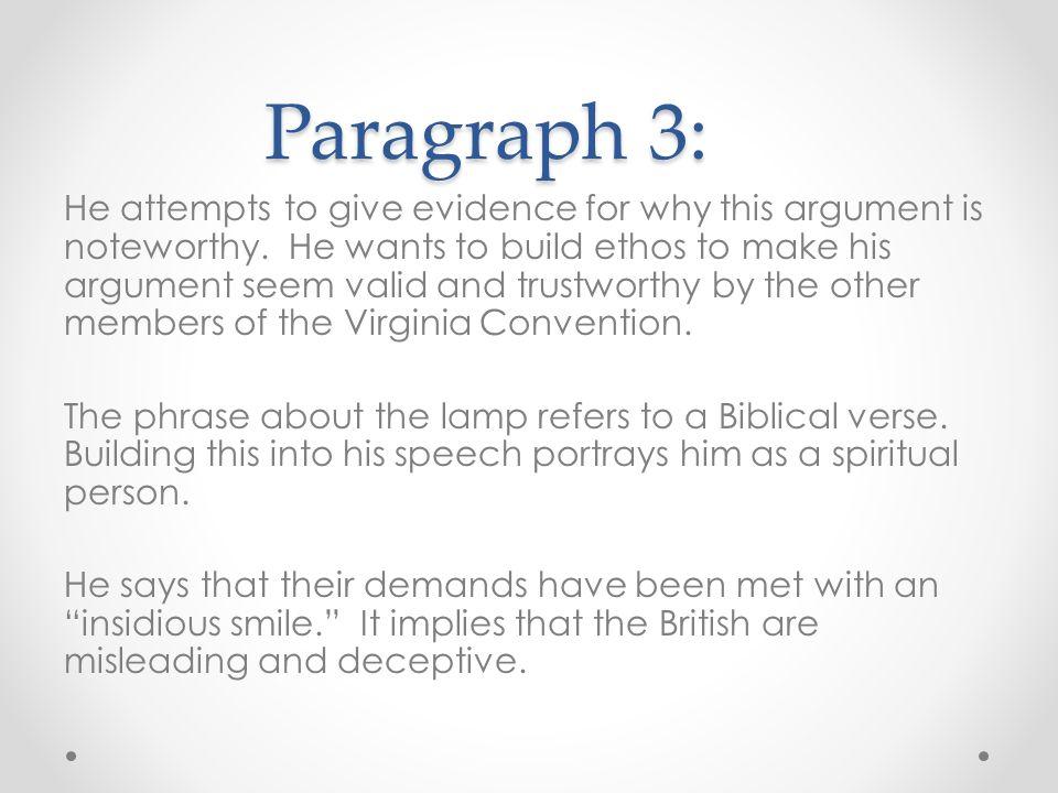 patrick henry speech meaning