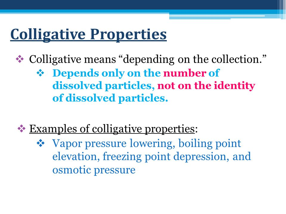 Physical Properties Of Solutions Honors Unit 10 Solutions In The