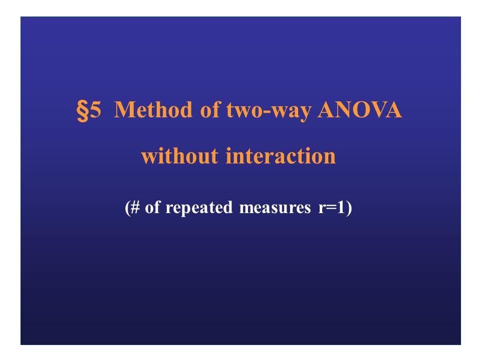 Chapter 8 Analysis of Variance ( ANOVA ) 方差分析 more thanAnalysis