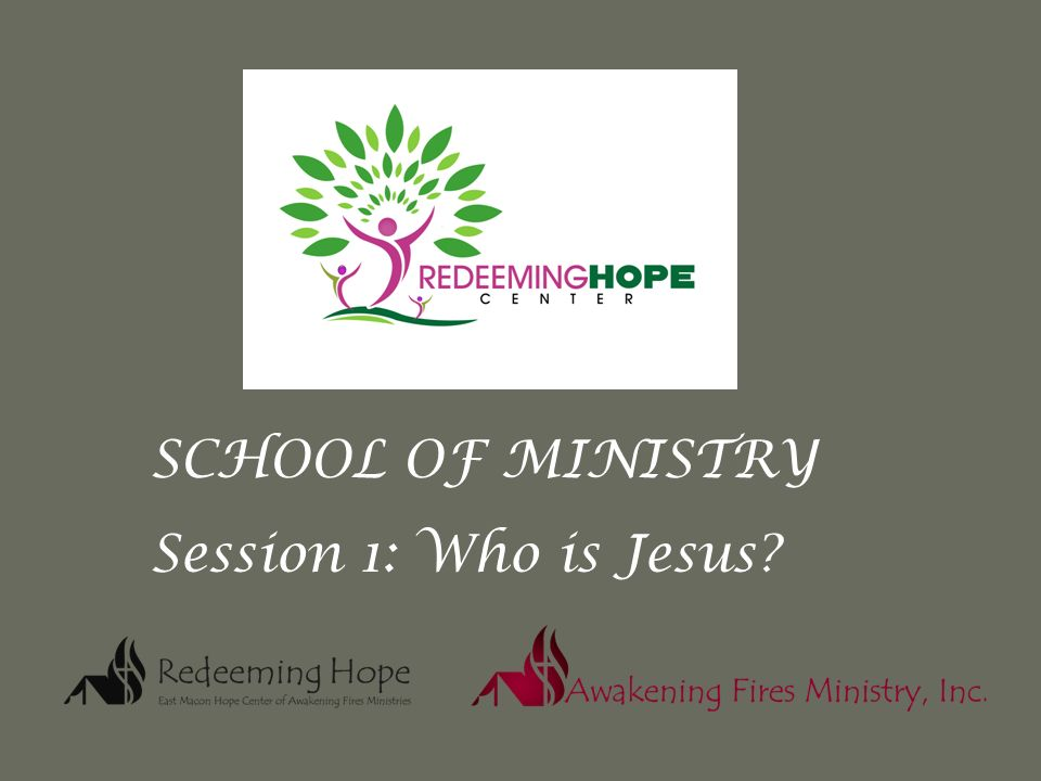 School Of Ministry Session 1 Who Is Jesus Who Is Jesus Images