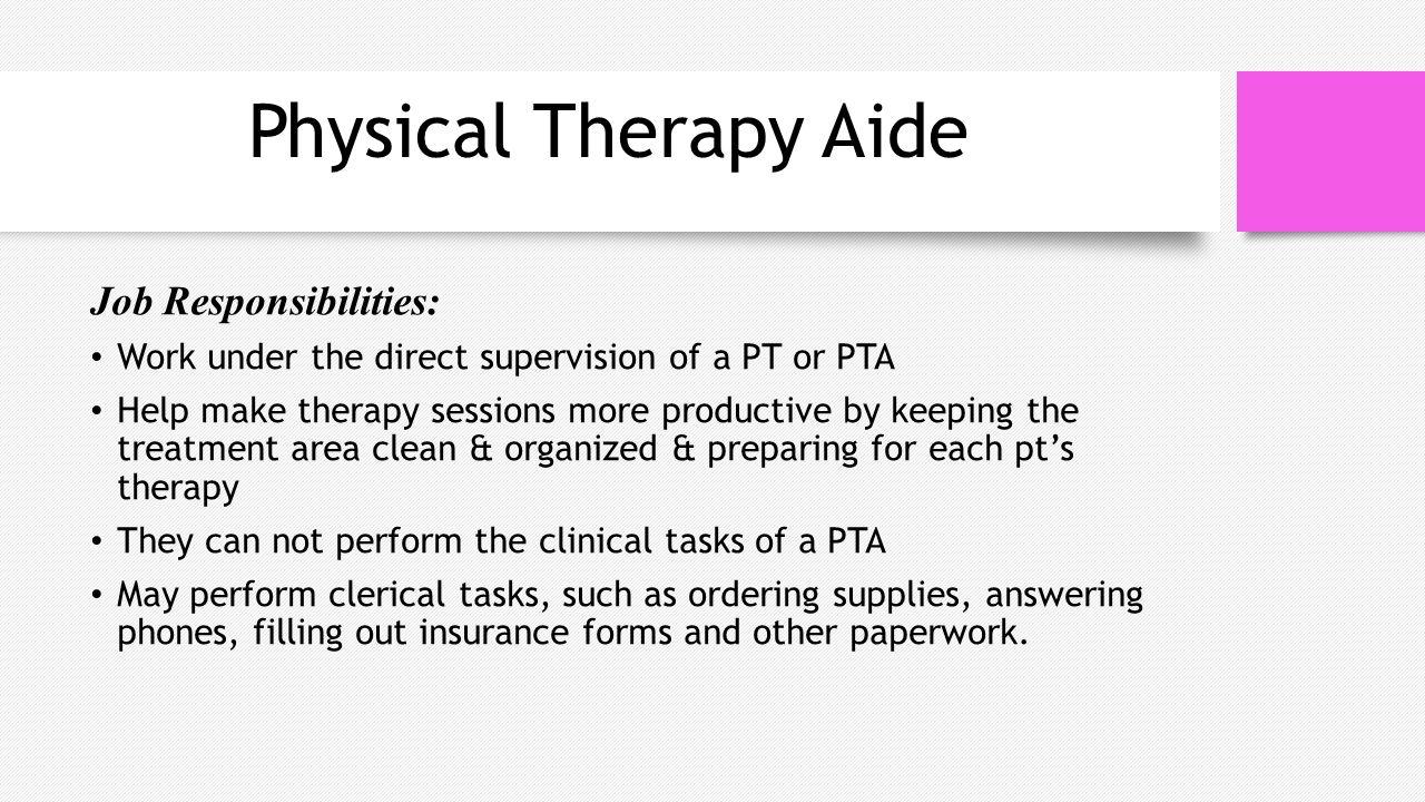 Physical Therapy Job Description   Rehabilitative Services What Is Rehabilitative Services Often