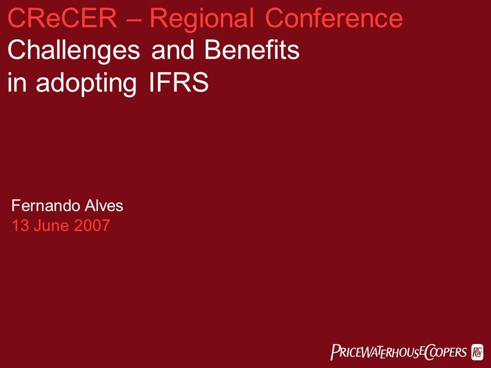 benefits of adopting ifrs