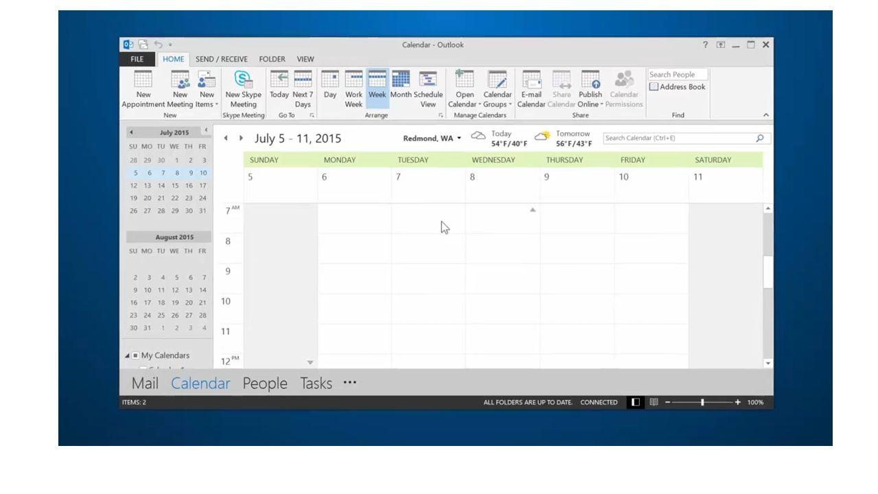 schedule a skype meeting