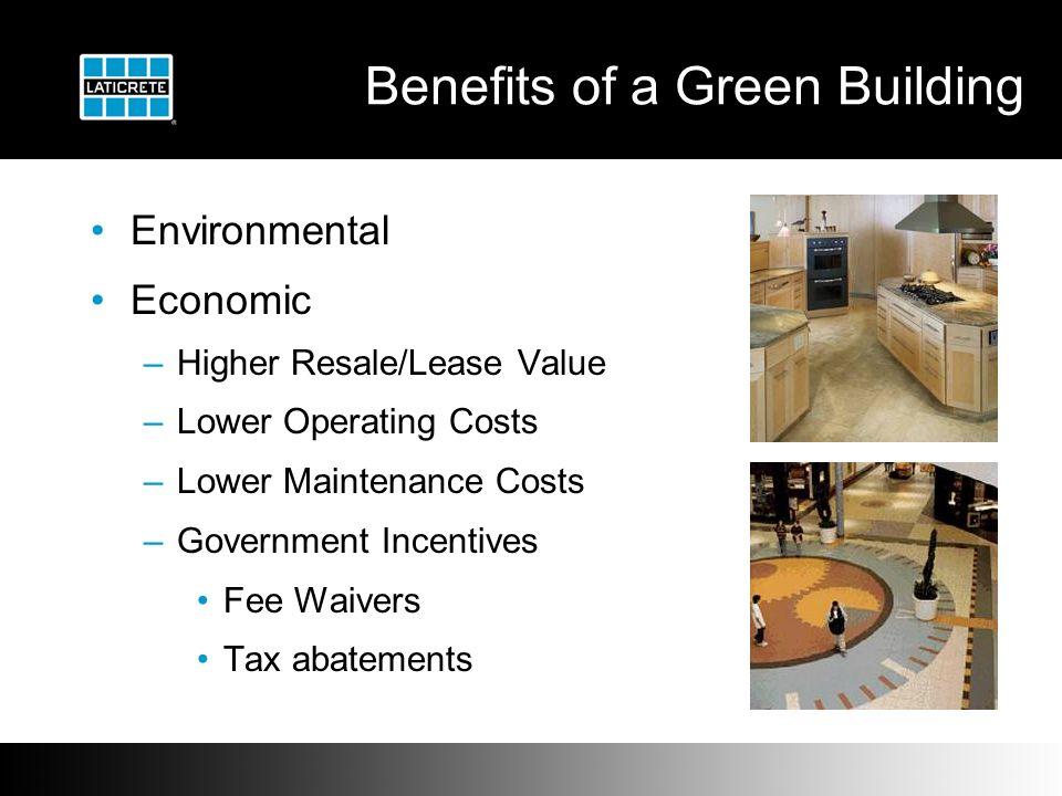MVP Sustainability Green LEED LEED TM and its effect on tile