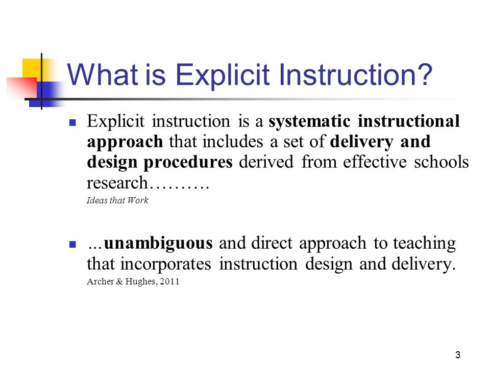 1 Explicit Instruction Effective And Efficient Teaching Ppt