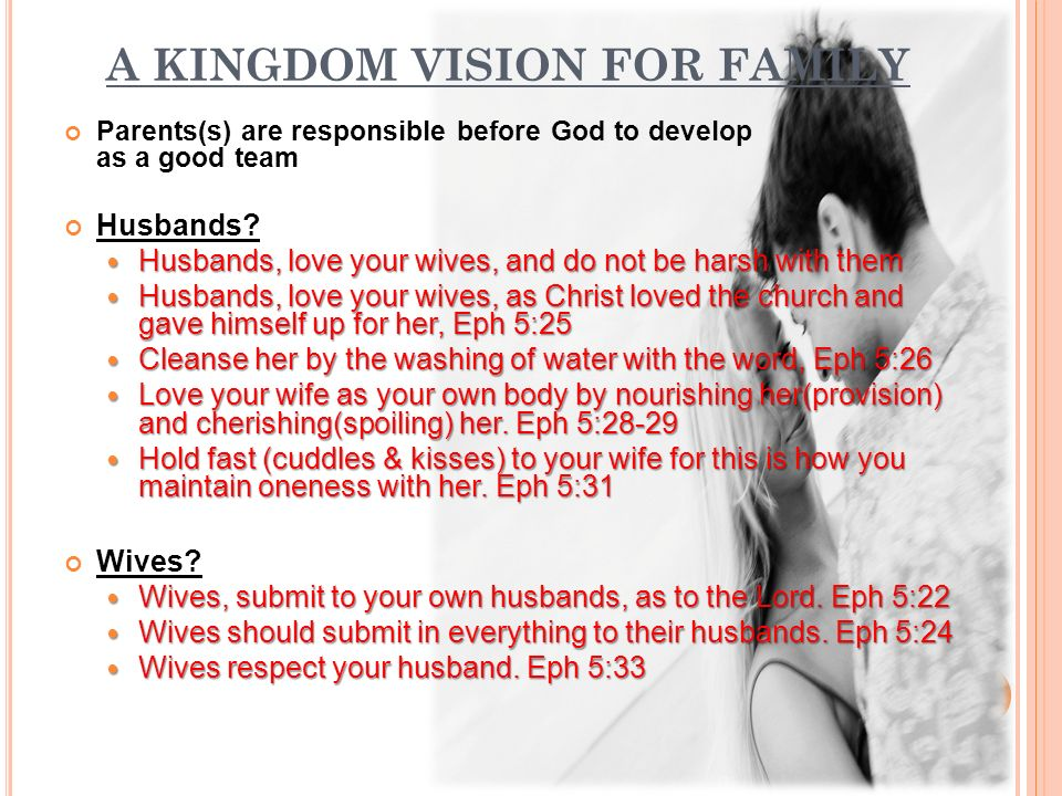 how does a wife submit to her husband